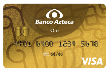 Tarjeta Oro Banco Azteca